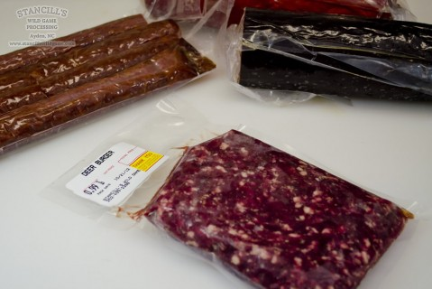 Vacuum Sealed and Frozen Venison (Deer Meat)