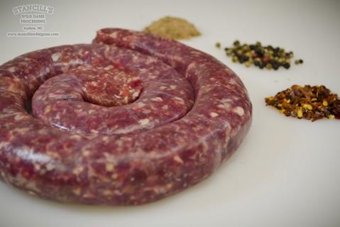 Venison (Deer) Fresh Sausage